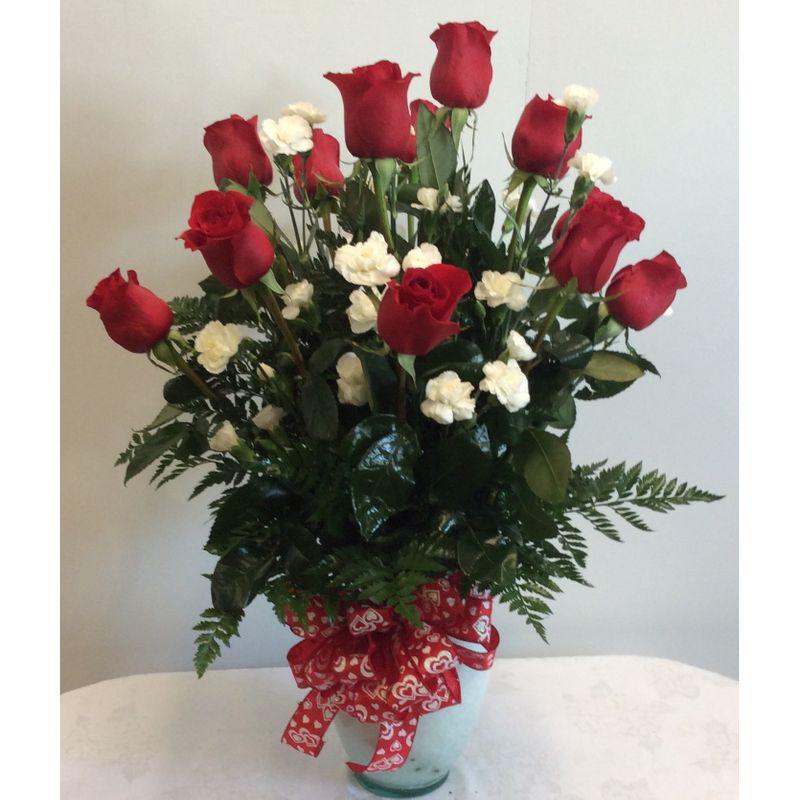 Dozen Long Stem Red Roses Lucedale Ms Florist The Original