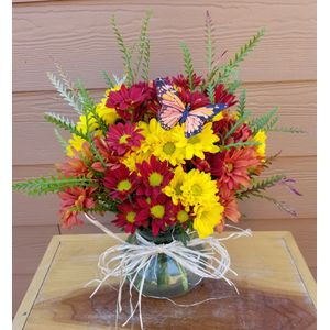 Fall flowers it can be arranged marion nc florist voted pretty fall posie in marion nc it can be arranged mightylinksfo