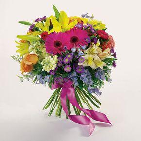 Presentation Bouquet in Whitehorse Yukon Territory, In Bloom Flowers