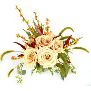 Columbia tn flowers jackson blume studio 38401 florist half dozen roses with seasonal accents in columbia tn jackson blume studio mightylinksfo