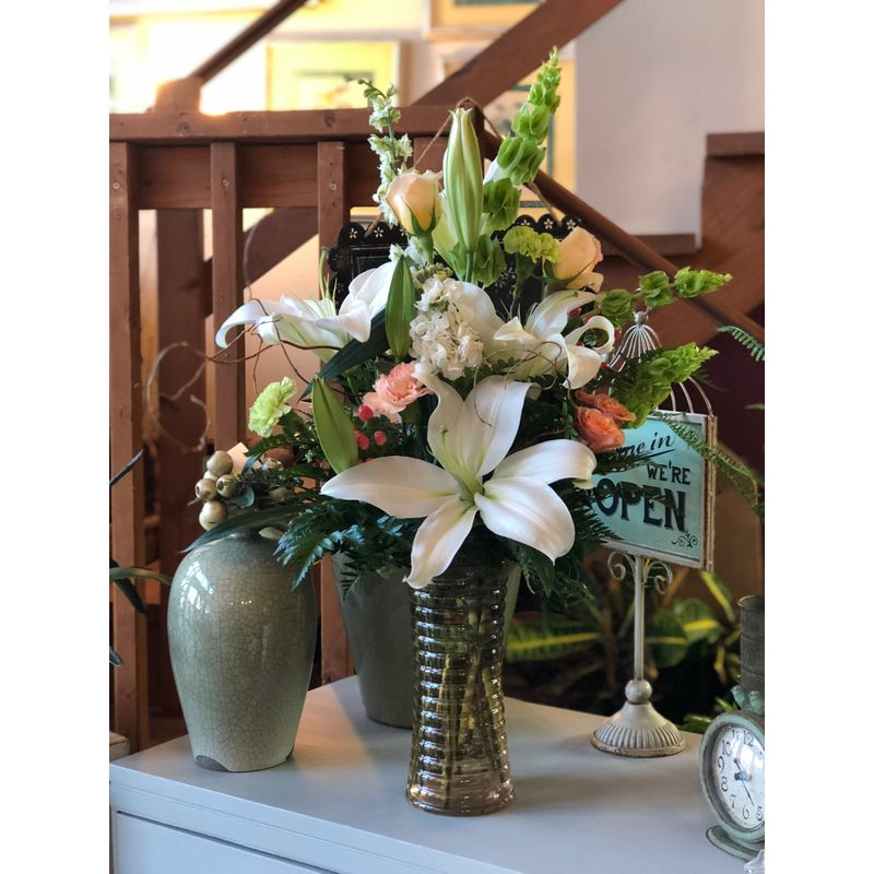 Tall Lilies Smithville Mo Florist Jeans Flowers Gifts Best