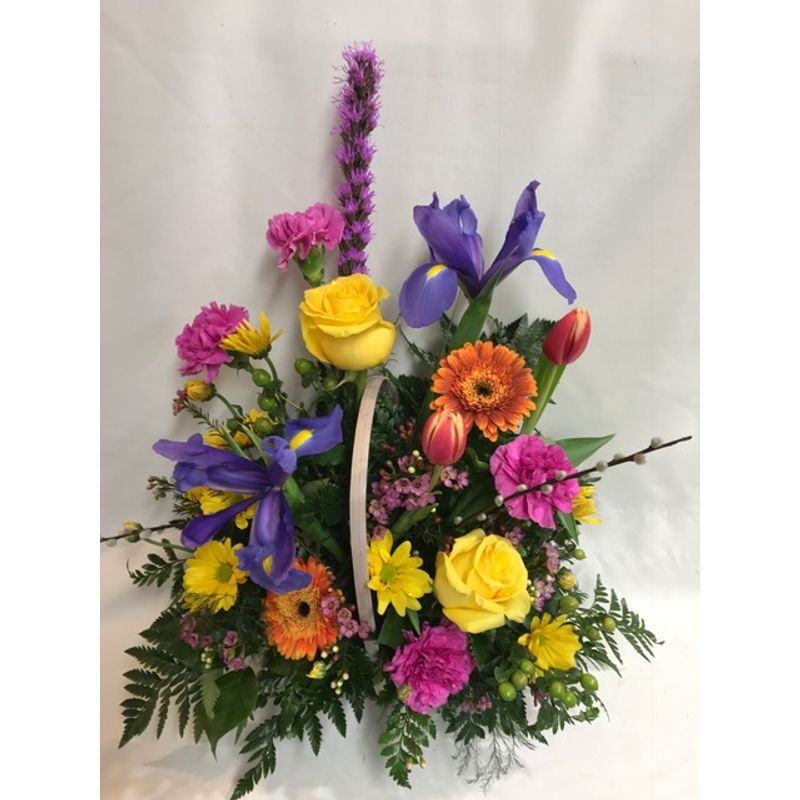 Spring mix basket smithville mo florist jeans flowers gifts more views mightylinksfo