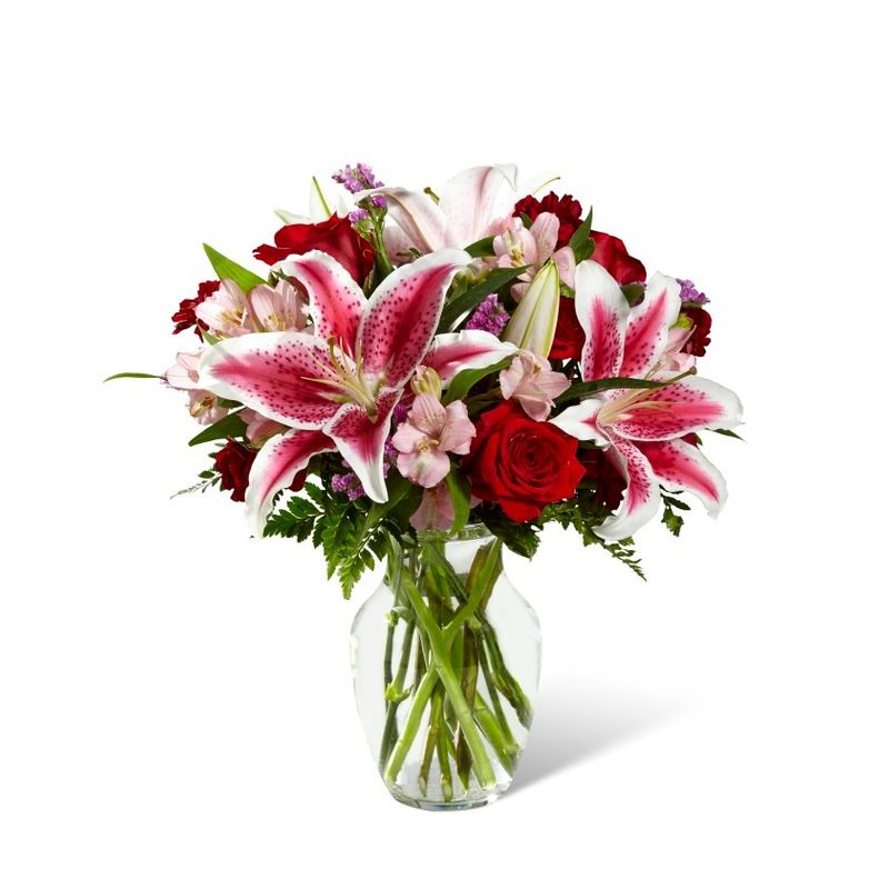 The Ftd High Style Bouquet Kamloops Flower Delivery