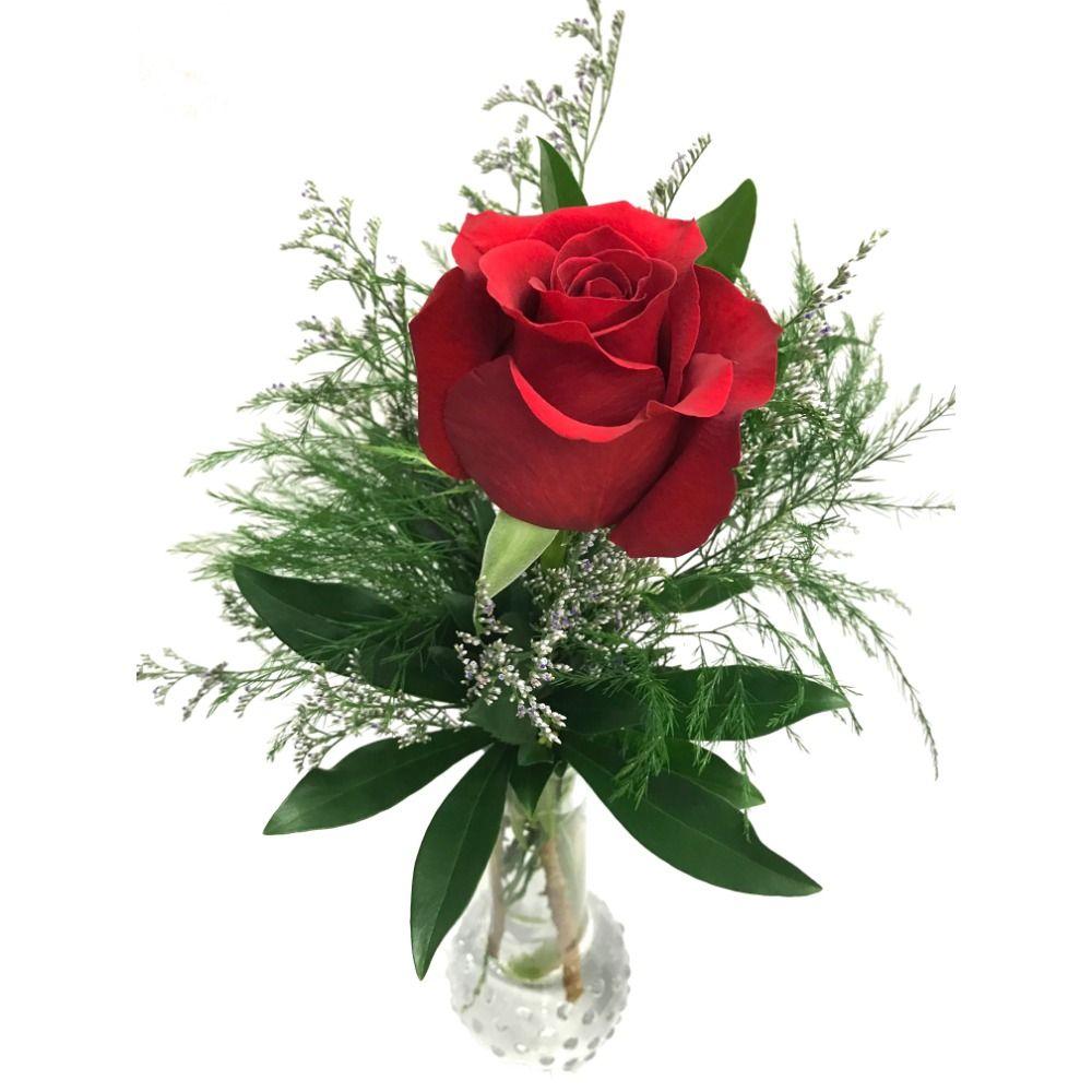 More Views  sc 1 st  Kamloops Florist & Single Rose in a Bud Vase Kamloops Flower Delivery: Kamloops Florist ...