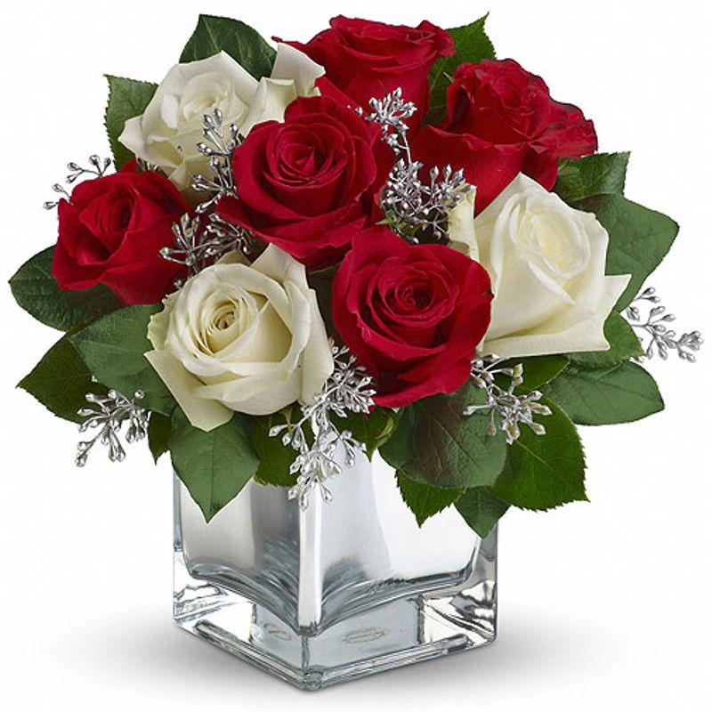 Snowy Night Cashmere & Rose - Flower Shop   Best Almonte, ON Florist