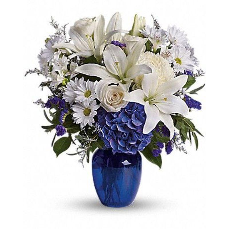 Beautiful In Blue Florist Flower Shop Calgary Flower Delivery Calgary Flowers Best Florist Calgary