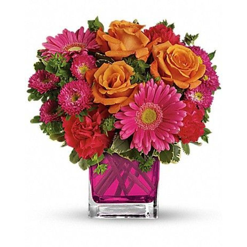Turn Up The Pink Florist Flower Shop Calgary Flower Delivery Calgary Flowers Best Florist Calgary