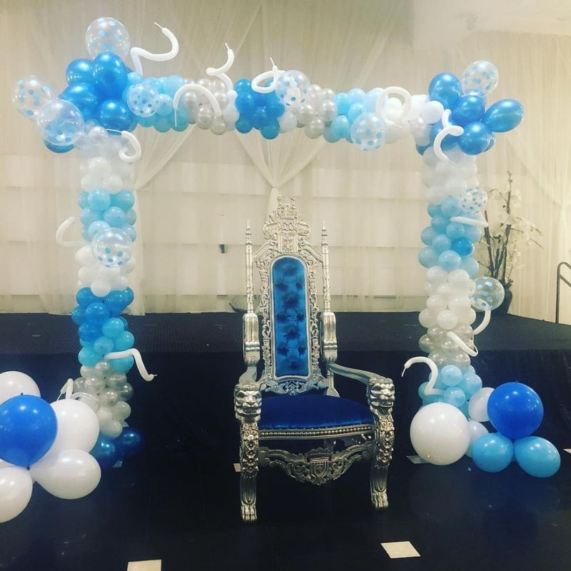 Square Arch Balloons Hollywood Florist Li Flowers Local