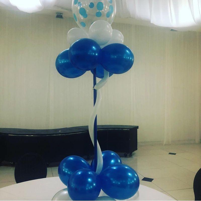 Balloons Centerpiece Hollywood Florist Li Flowers Local
