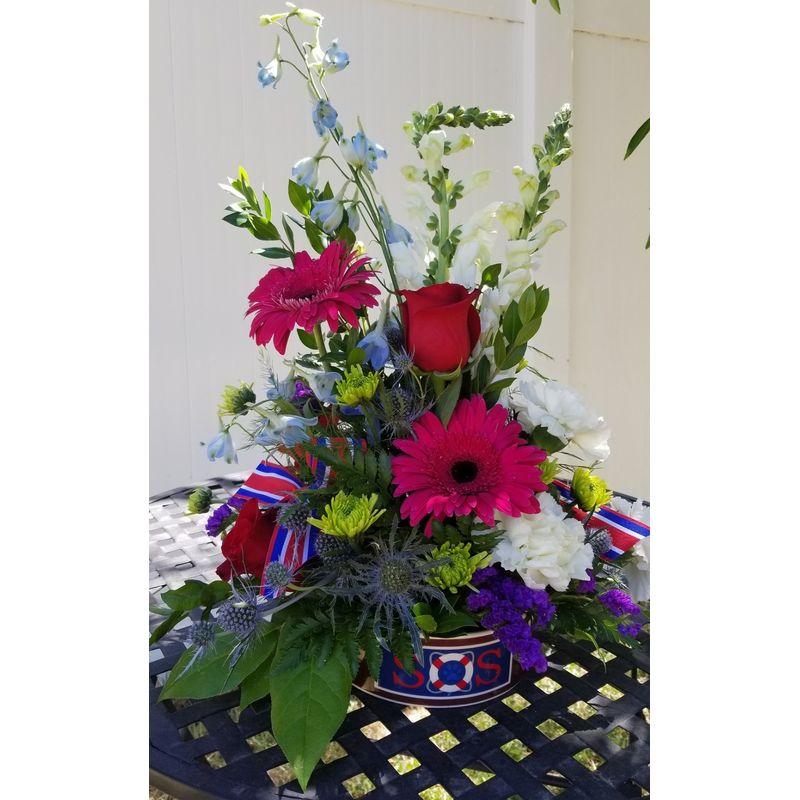 Water Dog Lighthouse Flower Shop