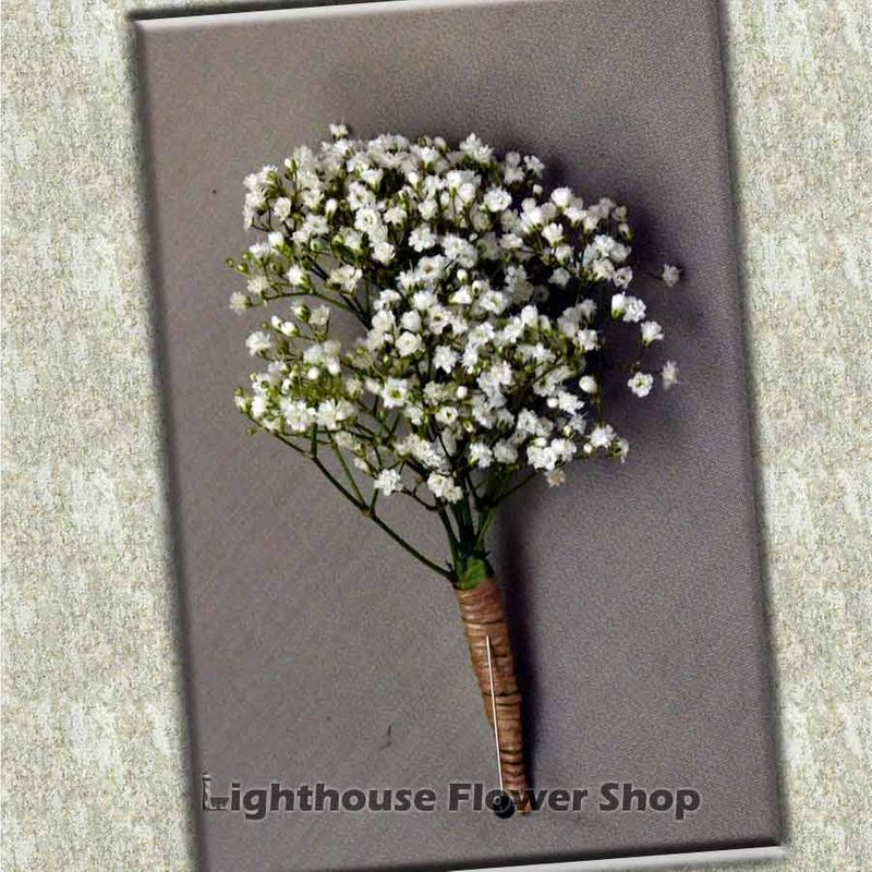 Baby Breath And Twine Bout Lighthouse Flower Shop