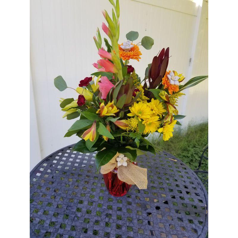 Just Peachy Lighthouse Flower Shop