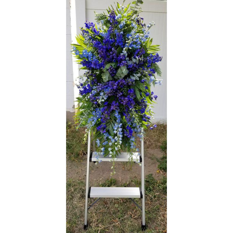 Handyman Funeral Easel Lighthouse Flower Shop
