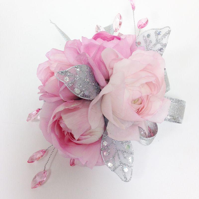 The Princess Wrist Corsage Lopshire Flowers