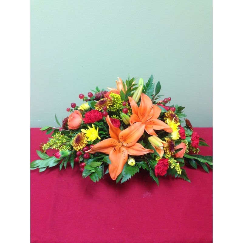 Thanksgiving day centerpiece lopshire flowers fort wayne
