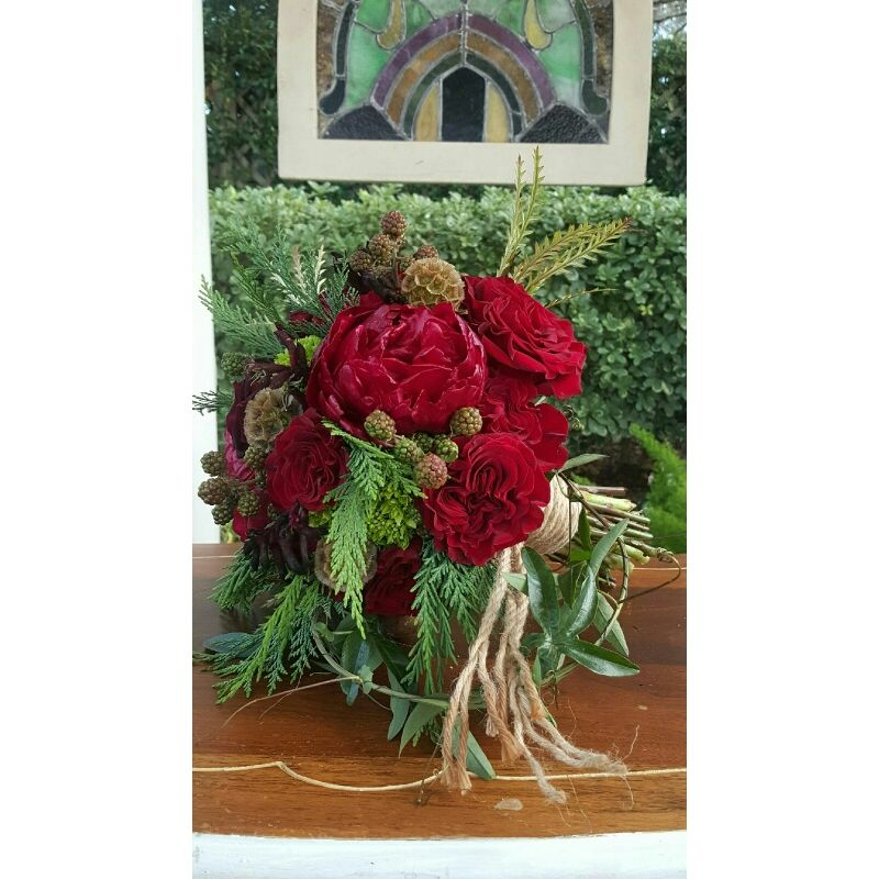 Red Bouquet Lush Flowers -Houston, TX -Local Flower Shop