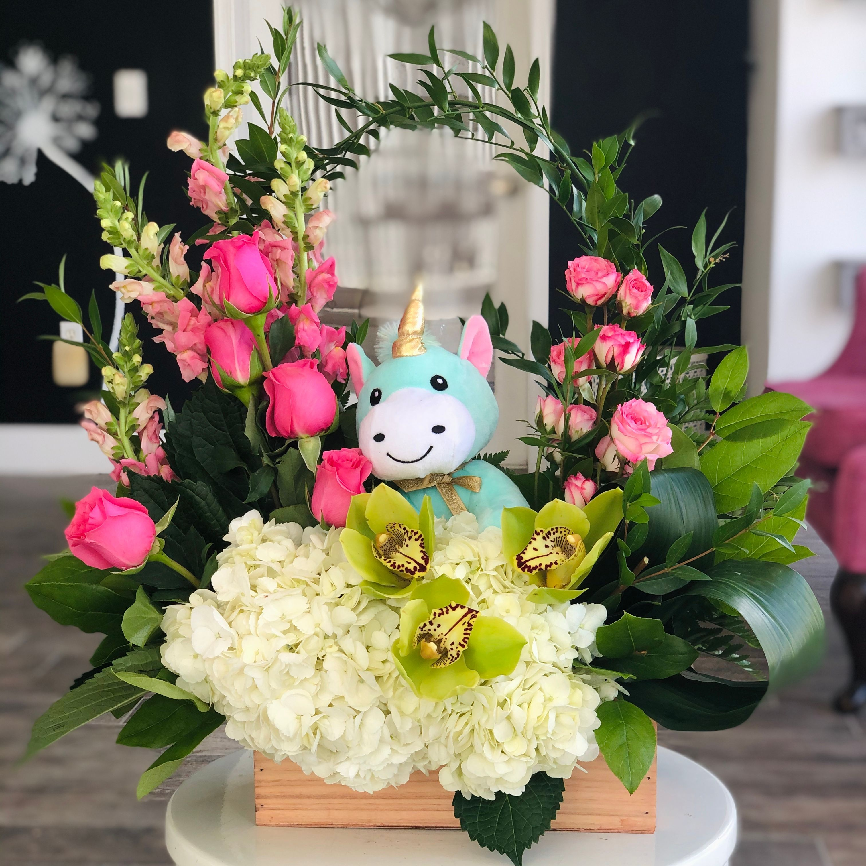 Khloe The Unicorn Flower Shops Miami Fl Marie S Florals