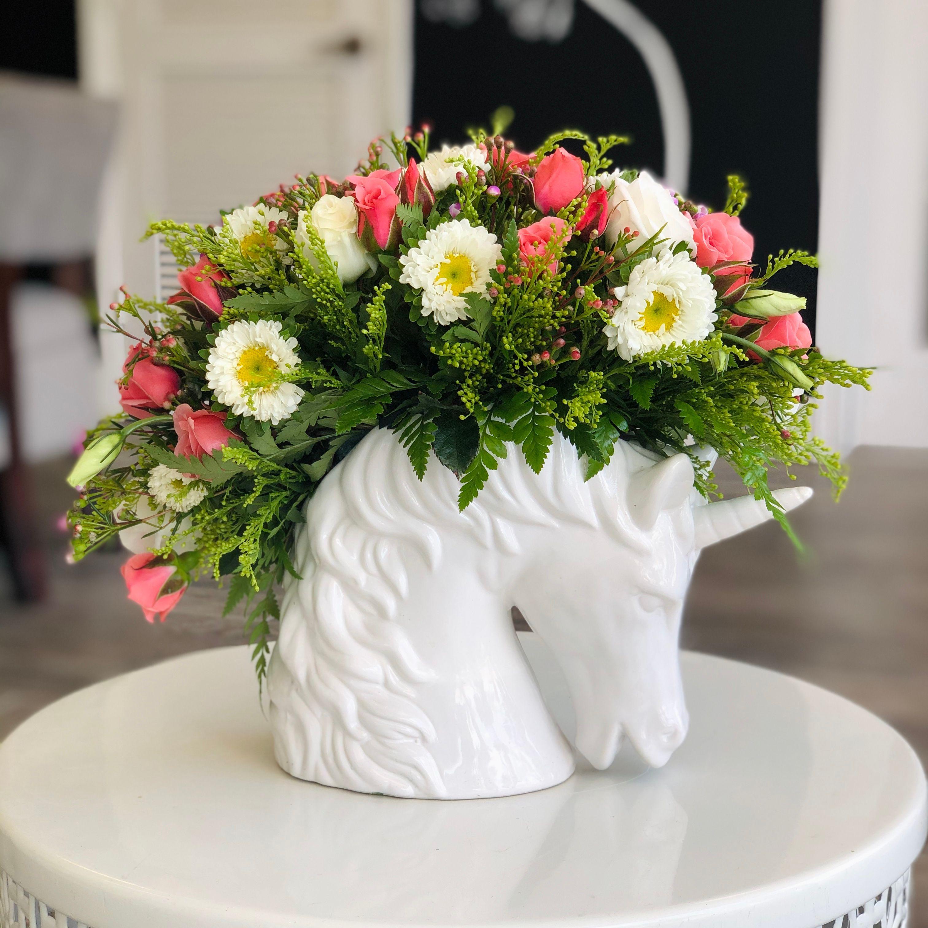 Majestic Unicorn Flower Shops Miami Fl Marie S Florals