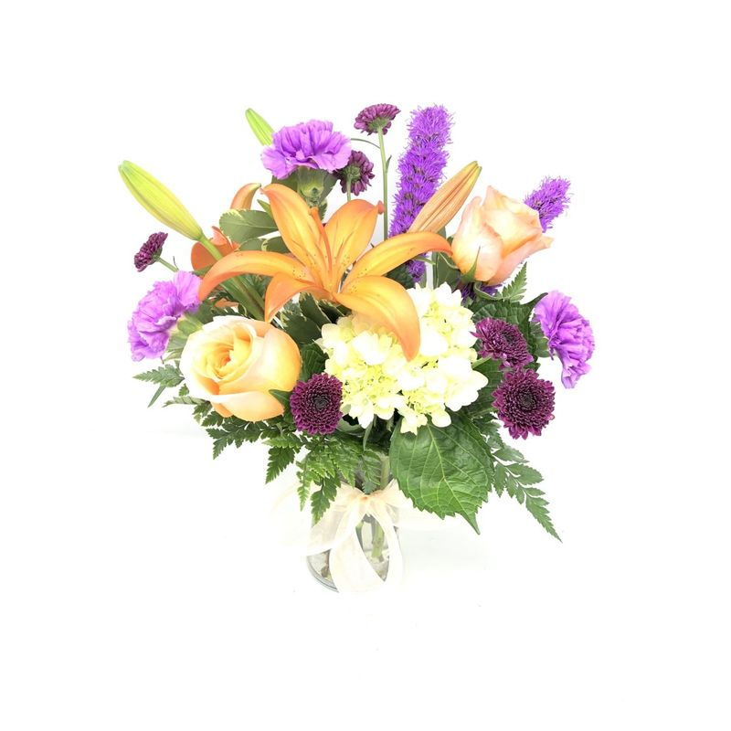 Beaming Birthday Bouquet Greeley Florist Mariposa Flowers And