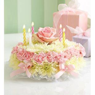 Birthday Flower Cake 4999 6999 Maryvilleflorist