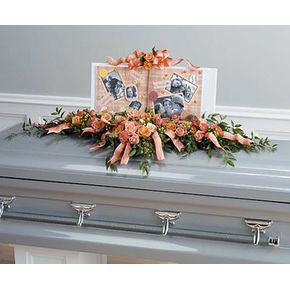 Sympathy and Funeral Flowers for the Casket Maureen's Designs
