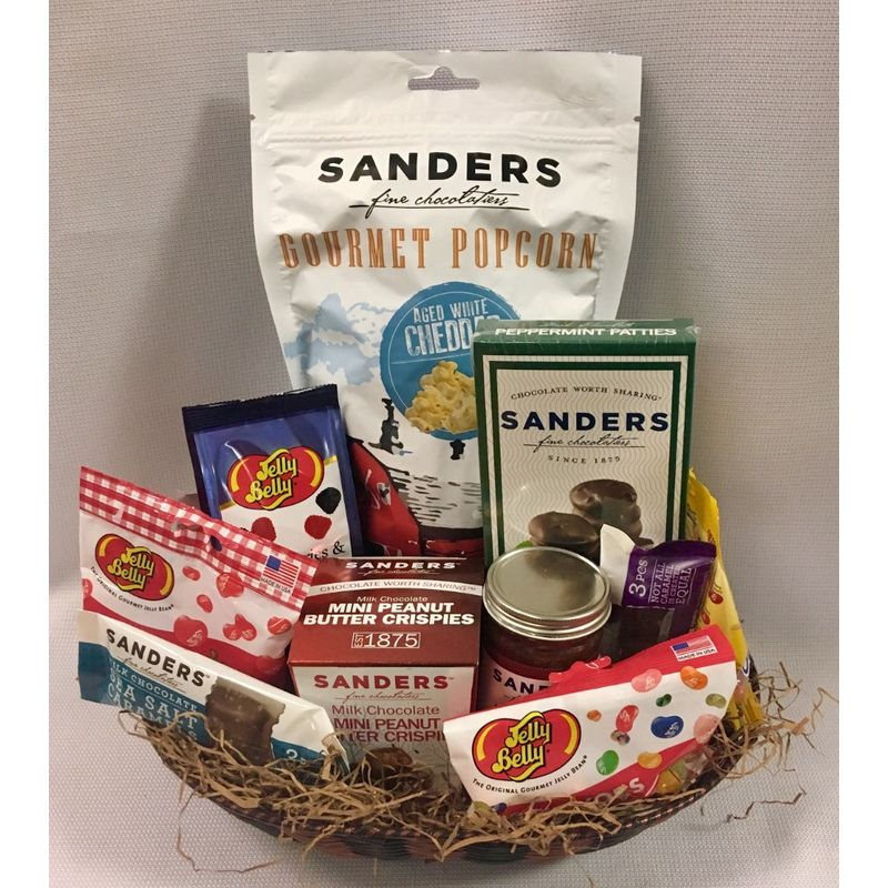 Chocolate and Candy gift basket