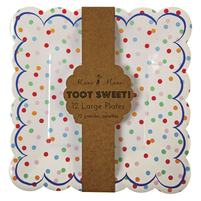 More Views  sc 1 st  Millu0027s Flowers and Gifts & Toot Sweet Spotty Plates Millu0027s Flowers and Gifts - Mt. Pleasant TX ...