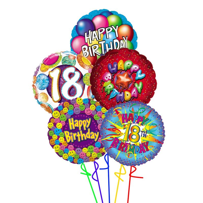 18th Birthday Balloons Colorado Springs Florist