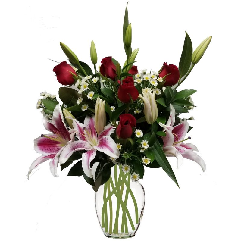 Roses And Lilies Colorado Springs Florist My Floral Shop