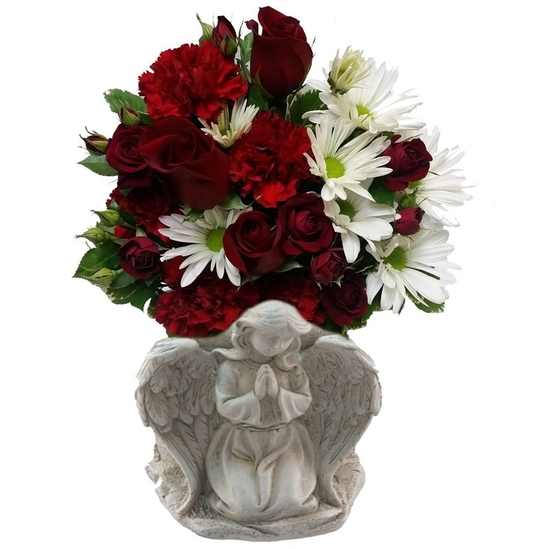Loving angel red colorado springs florist my floral shop more views mightylinksfo