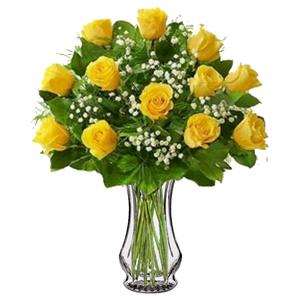 Colorado springs florist my floral shop colorado springs long stem yellow roses in colorado springs colorado my floral shop mightylinksfo