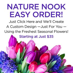 A Unique Bouquet For Any Occasion Starting At in Cleves Ohio, Nature Nook Florist &