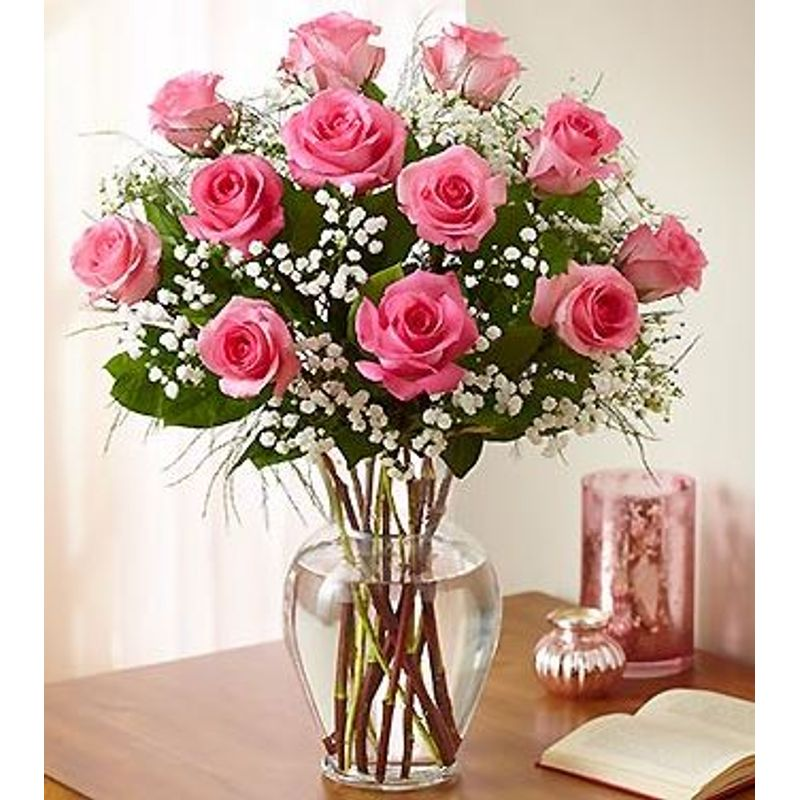 12 long stem Rose Bouquet...any color you wish Tampa Florists - New ...