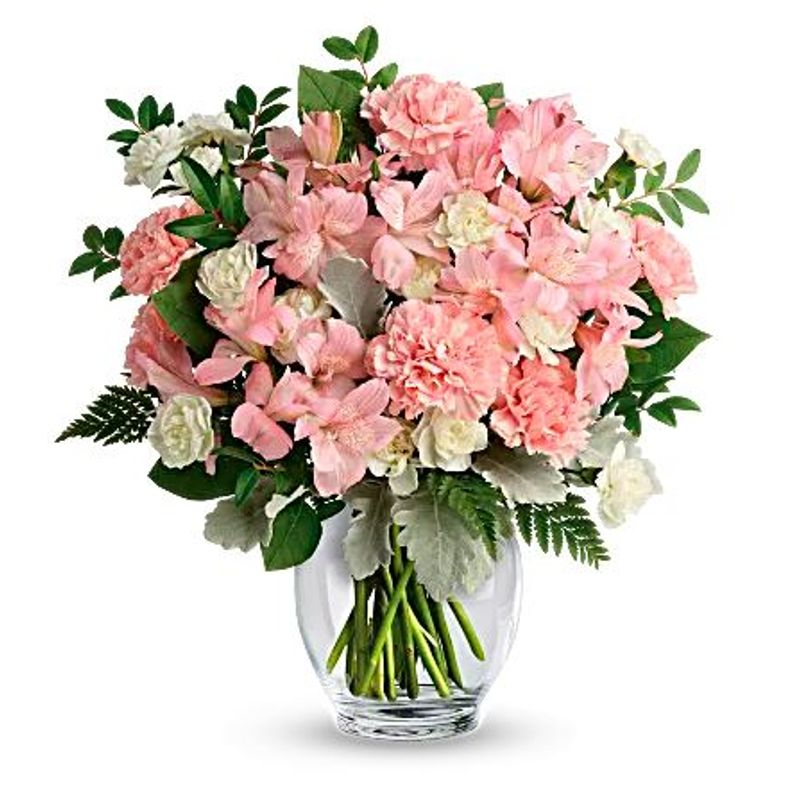 Soft Whispers of Love Bouquet Tampa Florists - New Tampa Flowers
