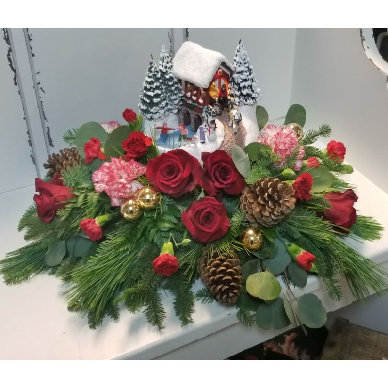 A Thomas Kinkade Christmas Dreams Niceville Florist - Katie\'s House ...