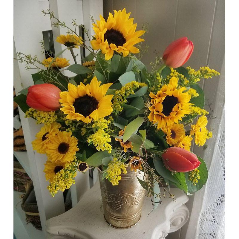 Sunflower Song Niceville Florist Katies House Of Flowers