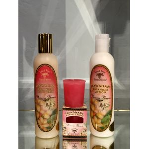 Island Soap Plumeria Gift Set in Carlsbad Ca, Ohana Creations