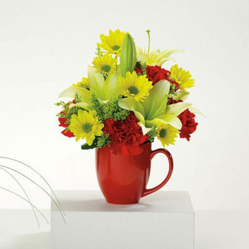 Good Morning Mug Bill Osheas Flowers Hasbrouck Heights And