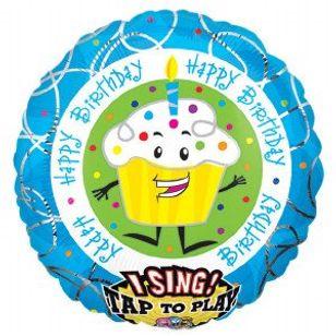 Birthday Wishes Singing Balloon Bouquet