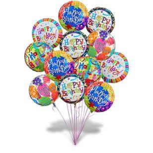 Big Birthday Balloon Bouquet