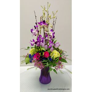 Delightful Dendros in Cohasset MA, Paul Douglas Floral Designs