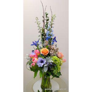 Colors of Monet in Cohasset MA, Paul Douglas Floral Designs