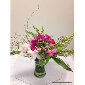 Orchid Sophistication in Cohasset MA, Paul Douglas Floral Designs