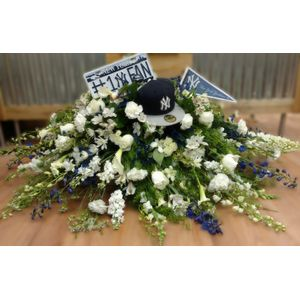 Sympathy and Funeral Flowers for the Casket Cohasset Florist