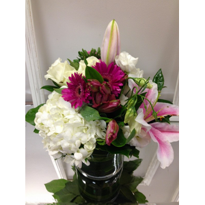 Pretty PInk and White in Cohasset MA, Paul Douglas Floral Designs