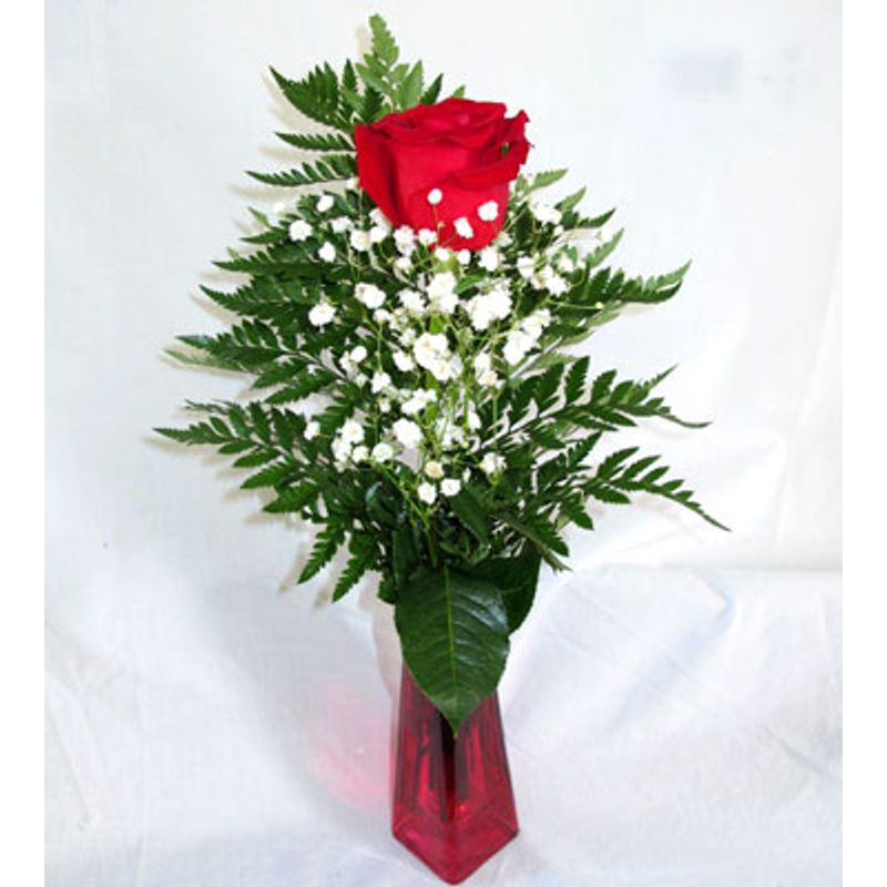 Rose Bud Vase Hull Ia Florist 51239 Personal Touch Designs Floral