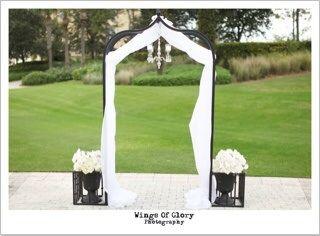 Wedding Arch Rentals New Smyrna Beach Florist Pink