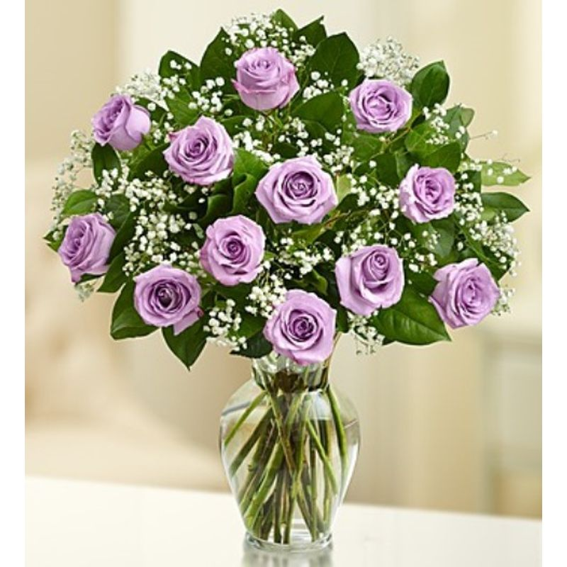 rose elegance premium long stem purple roses hartford florist raes