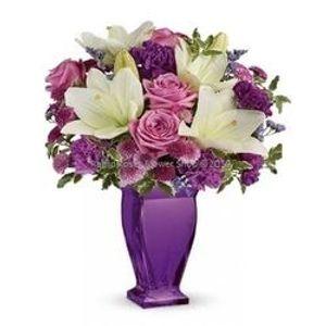 Lilac Bouquet (Substitute Vase 5/20) in Buckeye AZ, Rapid Roses Flower
