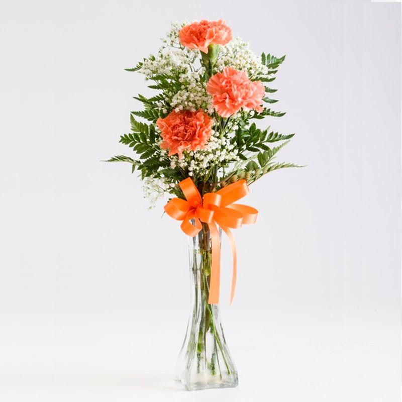 Carnation Bud Vase North Manchester Florist I North Manchester In